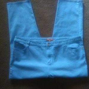Sky blue Ellen Tracey jeans